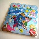 kawaii Q-lia sea animals sticker sack