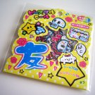 Mind Wave ghosts and skulls sticker sack