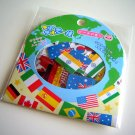Q-lia country flags sticker sack