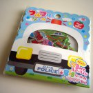 Q-lia police car sticker sack