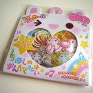 kawaii Q-lia musical animals sticker sack
