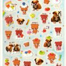 kawaii Crux puppies and friends sticker sheet