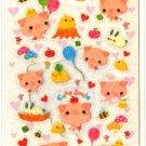 kawaii Crux cute smile sticker sheet