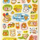 kawaii Crux koguma time white sticker sheet