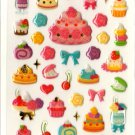 kawaii Mind Wave desserts sticker sheet