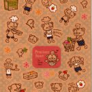 kawaii Mind Wave precious bear sticker sheet