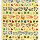 kawaii Q-lia panda sticker sheet USED