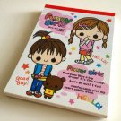 kawaii Kamio funny girls memo pad USED
