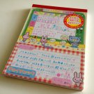kawaii San-x usagi memo pad 2003 USED