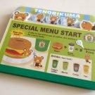 kawaii Sanrio tenorikuma tabbed special menu memo pad NEW