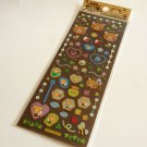 kawaii Sanrio tenorikuma honey time sticker sheet