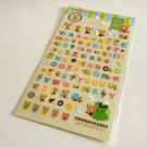 kawaii Sanrio tenorikuma alphabet sticker sheet