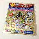 kawaii Crux panda police sticker sack