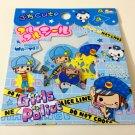 kawaii Q-lia Girls Police sticker sack