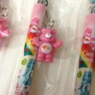 kawaii hearts Care Bears pen with charm