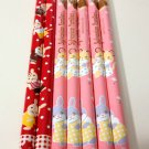 Epoch Co. Sylvanian families wooden pencil lot 7 pieces