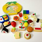 kawaii Iwako Foods, Desserts eraser lot USED