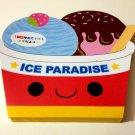 kawaii Kamio ice paradise die cut memo pad USED