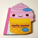kawaii Q-lia Smile Sweet die cut memo pad USED