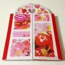 kawaii Youmec Strawberry Holiday memo pad USED