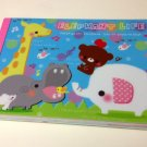 kawaii Kamio Elephant Life memo pad USED