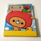 kawaii Kamio Apple Kumachan mini memo pad USED