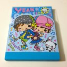 kawaii Q-lia Love Music Girls mini memo pad USED