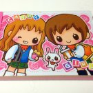 kawaii Crux Candy Girls mini memo pad USED