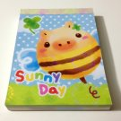 kawaii Crux Sunny Day mini memo pad USED