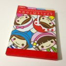 kawaii Crux Apple Town tabbed small memo pad USED