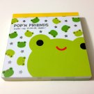 kawaii Kamio Pop'N Friends frog mini memo pad USED