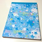 Pool Cool Star Party memo pad USED