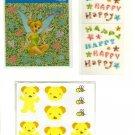 kawaii Disney mini sticker sheet lot