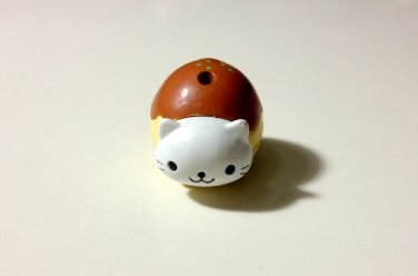 San-x Nyanko takoyaki charm DAMAGED USED