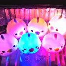 kawaii Amuse Kotori Tai Bird LED Flashing Bath Buddies Toys