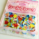 kawaii Kamio Japan Bubble Gum sticker sack USED