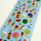 Clothes Pin Japan summer theme drop seal sticker sheet