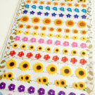 Kamio Japan flowers sticker sheet