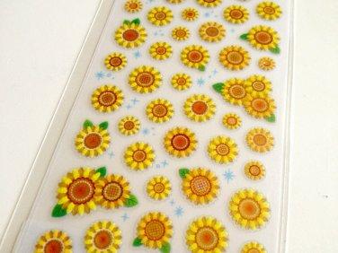 Mind Wave sunflowers sticker sheet