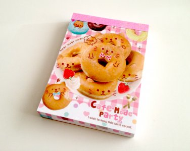 kawaii Q-lia Cafe Mode Party mini memo pad
