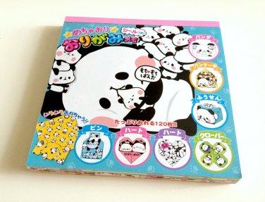 kawaii Kamio Japan mochi panda memo pad USED
