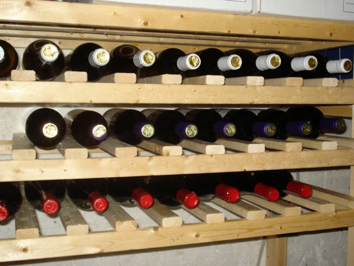 30 Bottle Wine Rack