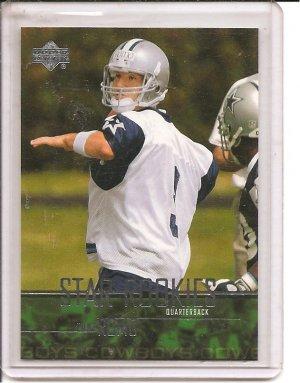 2003 UD Tony Romo Rookie
