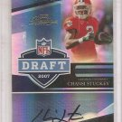 2007 Prestige Chansi Stuckey NFL Draft Auto