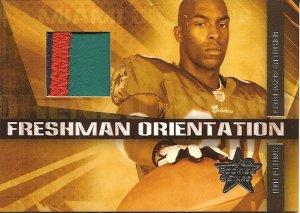 2007 LR&S Lorenzo Booker Freshman Orientation Patch