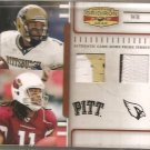 2007 Gridiron Gear Larry Fitzgerald Timeline Dual Patch