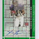 2007 Finest Yamon Figures Green Xfractor Auto
