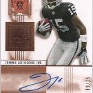 2007 SP Authentic Johnnie Lee Higgins Auto