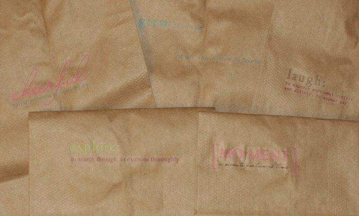 Natural Kraft Gift Bag ($0.75 with any purchase)