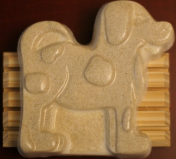 Handcrafted Oatmeal Doggie Soap